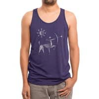 The Archer - mens-triblend-tank - small view