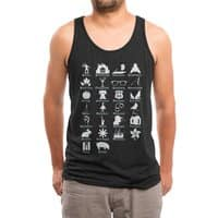 ABC's of Literature - mens-triblend-tank - small view