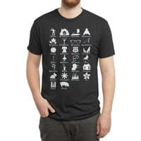 ABC's of Literature - mens-triblend-tee - small view