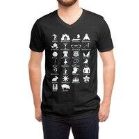 ABC's of Literature - vneck - small view