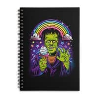 Lisa Frankenstein - spiral-notebook - small view