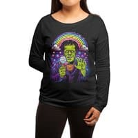 Lisa Frankenstein - womens-long-sleeve-terry-scoop - small view