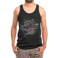 Run with the Pack - mens-triblend-tank - small view