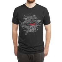 Run with the Pack - mens-triblend-tee - small view