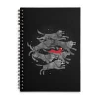 Run with the Pack - spiral-notebook - small view