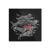 Run with the Pack - square-mounted-acrylic-print - small view