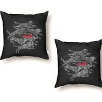 Run with the Pack - throw-pillow - small view