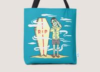 Surf Dracula - tote-bag - small view