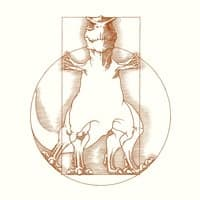 Vitruvian T-Rex - small view