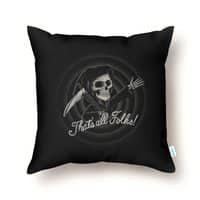The End - throw-pillow - small view