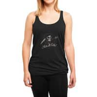 The End - womens-triblend-racerback-tank - small view
