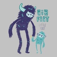 Big Foot Little Foot - small view