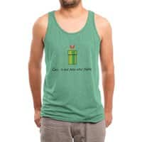 This Is Not a Pipe - mens-triblend-tank - small view