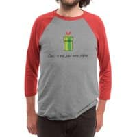 This Is Not a Pipe - triblend-34-sleeve-raglan-tee - small view