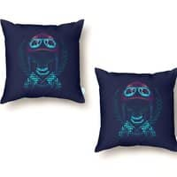Skull Racer - throw-pillow - small view