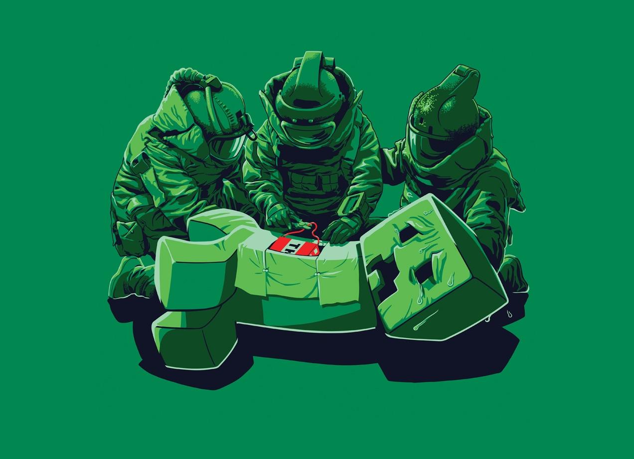 Creeper Squad By Victor Estivador Threadless