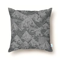 HORROR VACUI - throw-pillow - small view