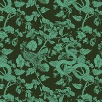 Crow, Snake and Frog: Threadless Girly Leggings - small view