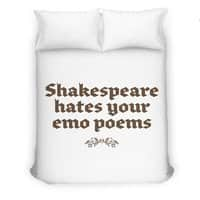 Shakespeare hates your emo poems - small view