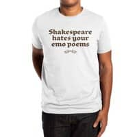 Shakespeare hates your emo poems - mens-extra-soft-tee - small view