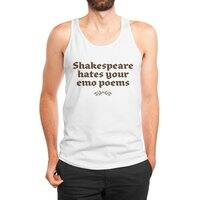 Shakespeare hates your emo poems - mens-jersey-tank - small view