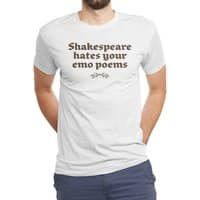 Shakespeare hates your emo poems - mens-triblend-tee - small view