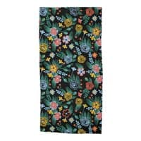 Flower Bucket - beach-towel - small view