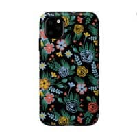 Flower Bucket - double-duty-phone-case - small view