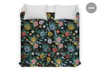 Flower Bucket - duvet-cover - small view