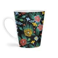 Flower Bucket - latte-mug - small view