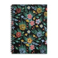 Flower Bucket - spiral-notebook - small view