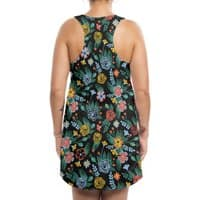 Flower Bucket - womens-sublimated-tank-dress - small view