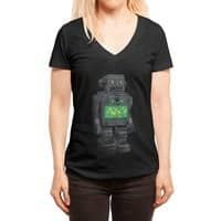 THE DISTANT FUTURE - womens-deep-v-neck - small view
