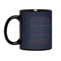 Linear Landscape - black-mug - small view