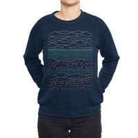 Linear Landscape - crew-sweatshirt - small view