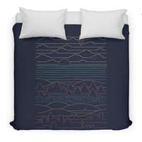 Linear Landscape - duvet-cover - small view
