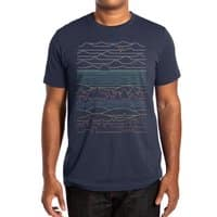 Linear Landscape - mens-extra-soft-tee - small view
