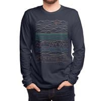 Linear Landscape - mens-long-sleeve-tee - small view