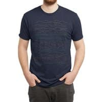 Linear Landscape - mens-triblend-tee - small view