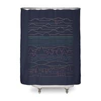 Linear Landscape - shower-curtain - small view