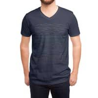 Linear Landscape - vneck - small view
