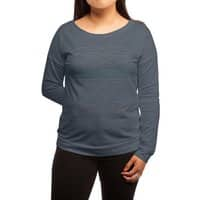 Linear Landscape - womens-long-sleeve-terry-scoop - small view