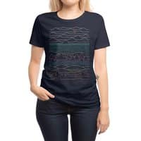 Linear Landscape - womens-regular-tee - small view