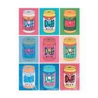Duff Beer Can Pop Art - small view
