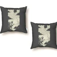 Sky Thrower - throw-pillow - small view