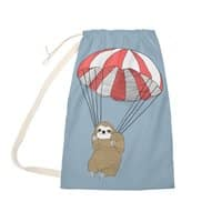 Parachuting Sloth - laundry-bag - small view