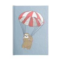Parachuting Sloth - notebook - small view