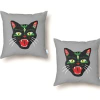 Hellcat - throw-pillow - small view