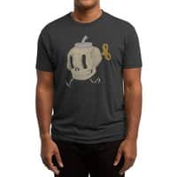 Skull Bomb - mens-triblend-tee - small view