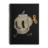 Skull Bomb - spiral-notebook - small view